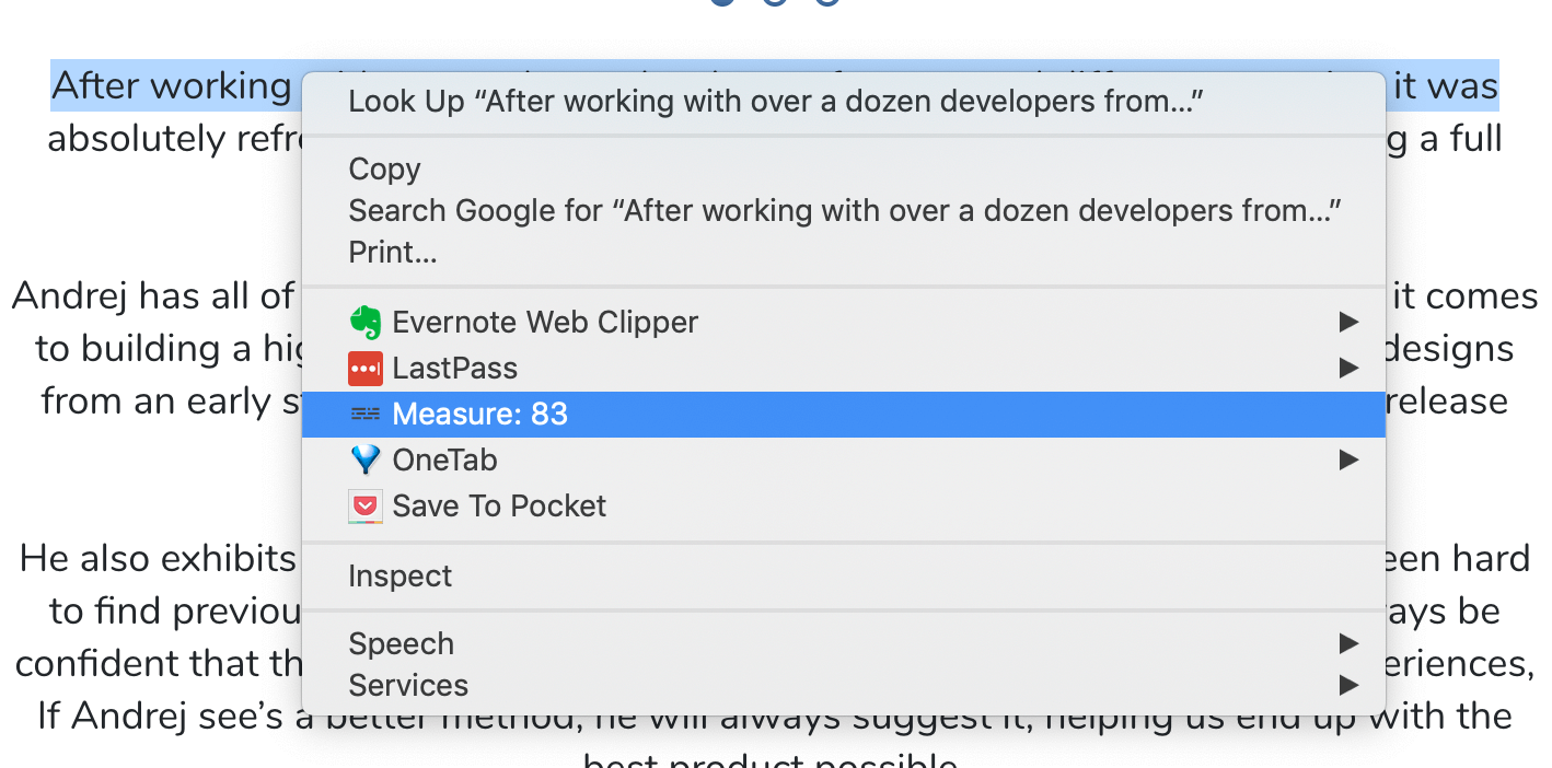 45to75 chrome extension