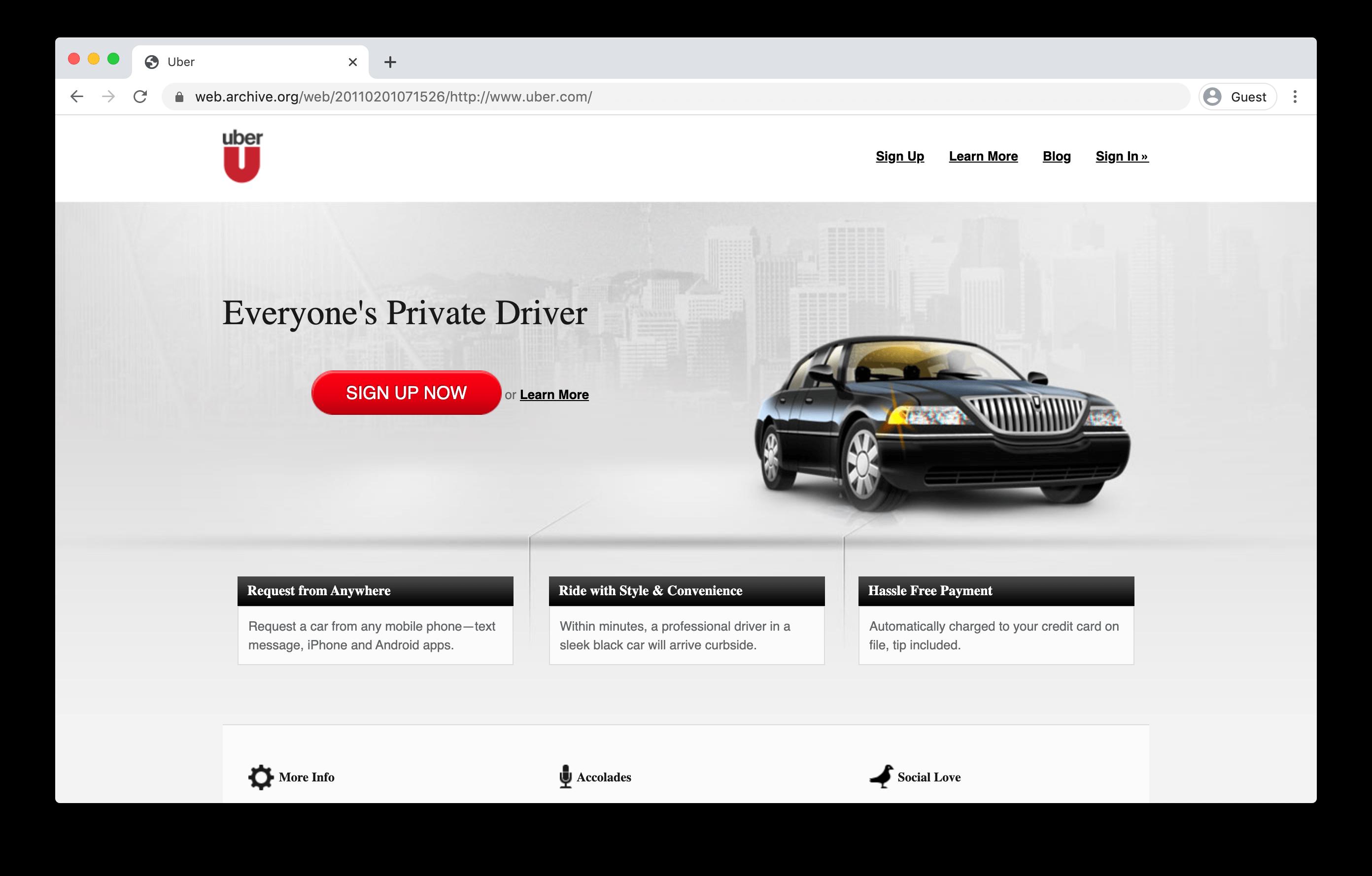 uber mvp
