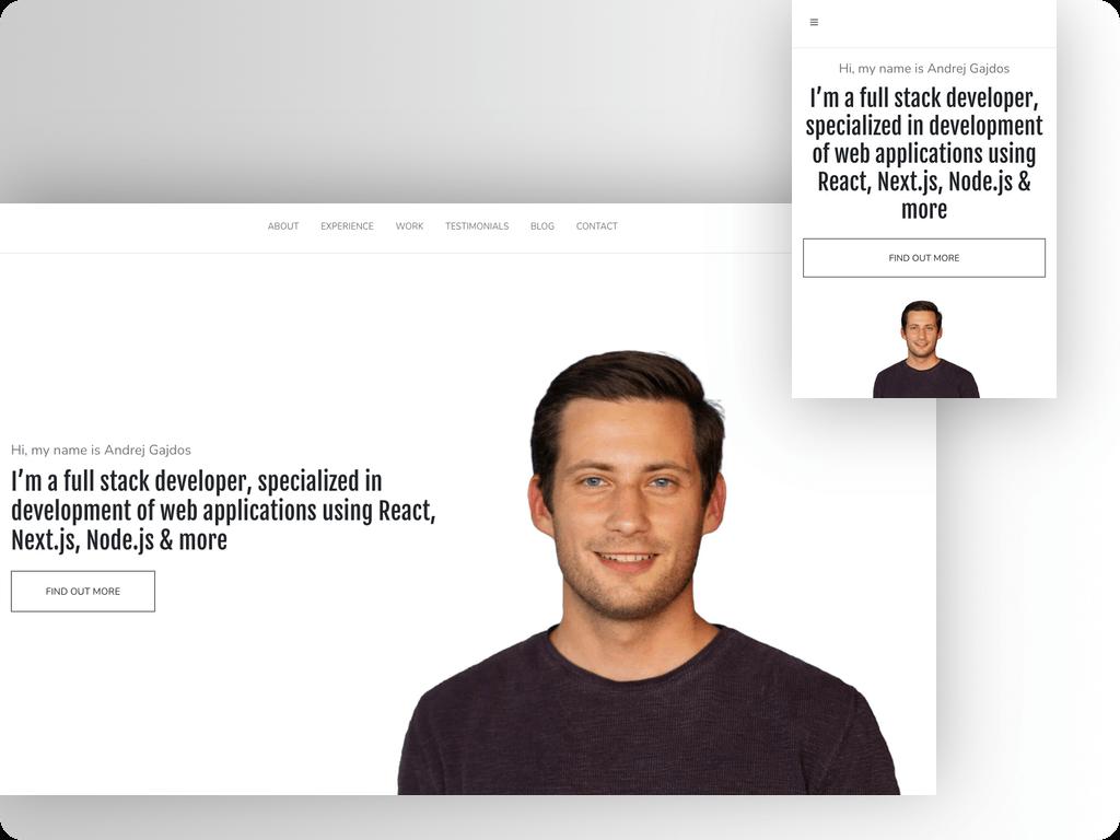 Wordpress Website   Developer Portfolio Item